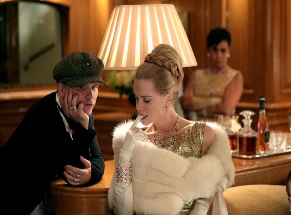 Nicole Kidman as Grace Kelly in Grace of Monaco, seen here with director Olivier Dahan