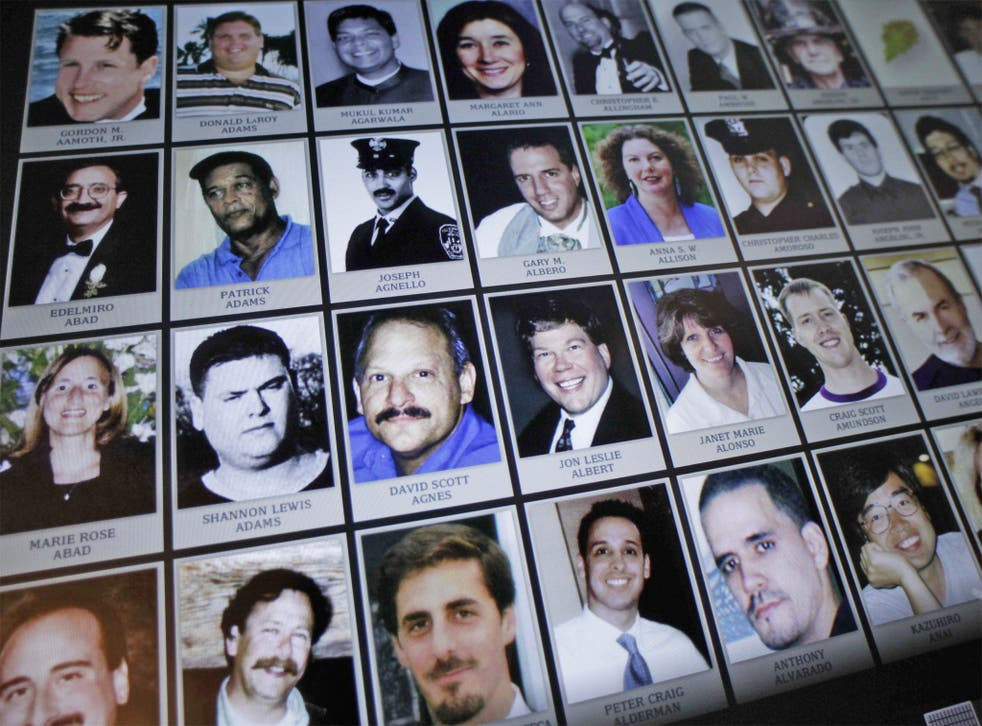 Roughly 40 per cent of 9/11 victims' remains haven't been found
