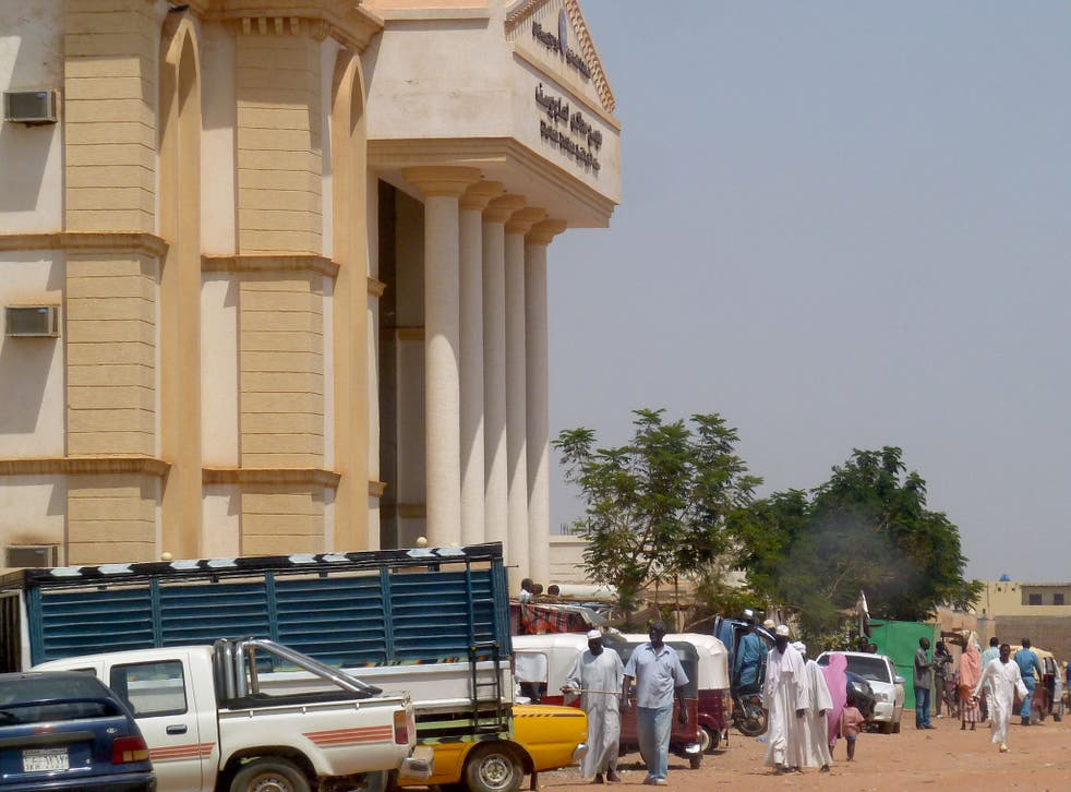 The courthouse in Haj Yousef district in the Sudanese capital Khartoum