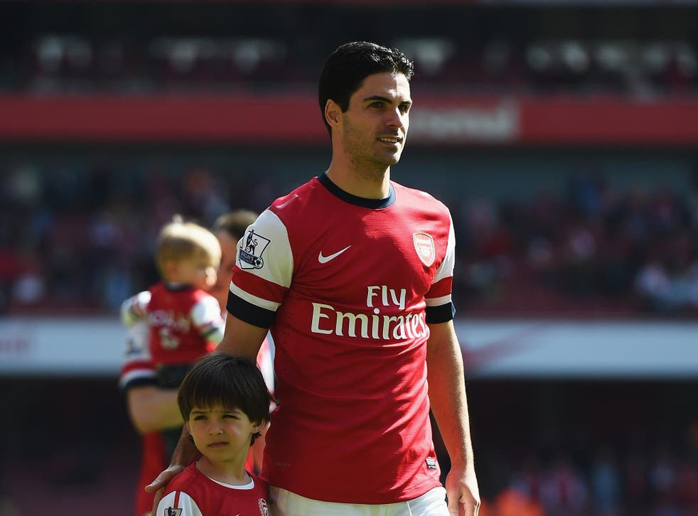 'I don't like it when someone criticises my club,' says Mikel Arteta, 'I have a different opinion'