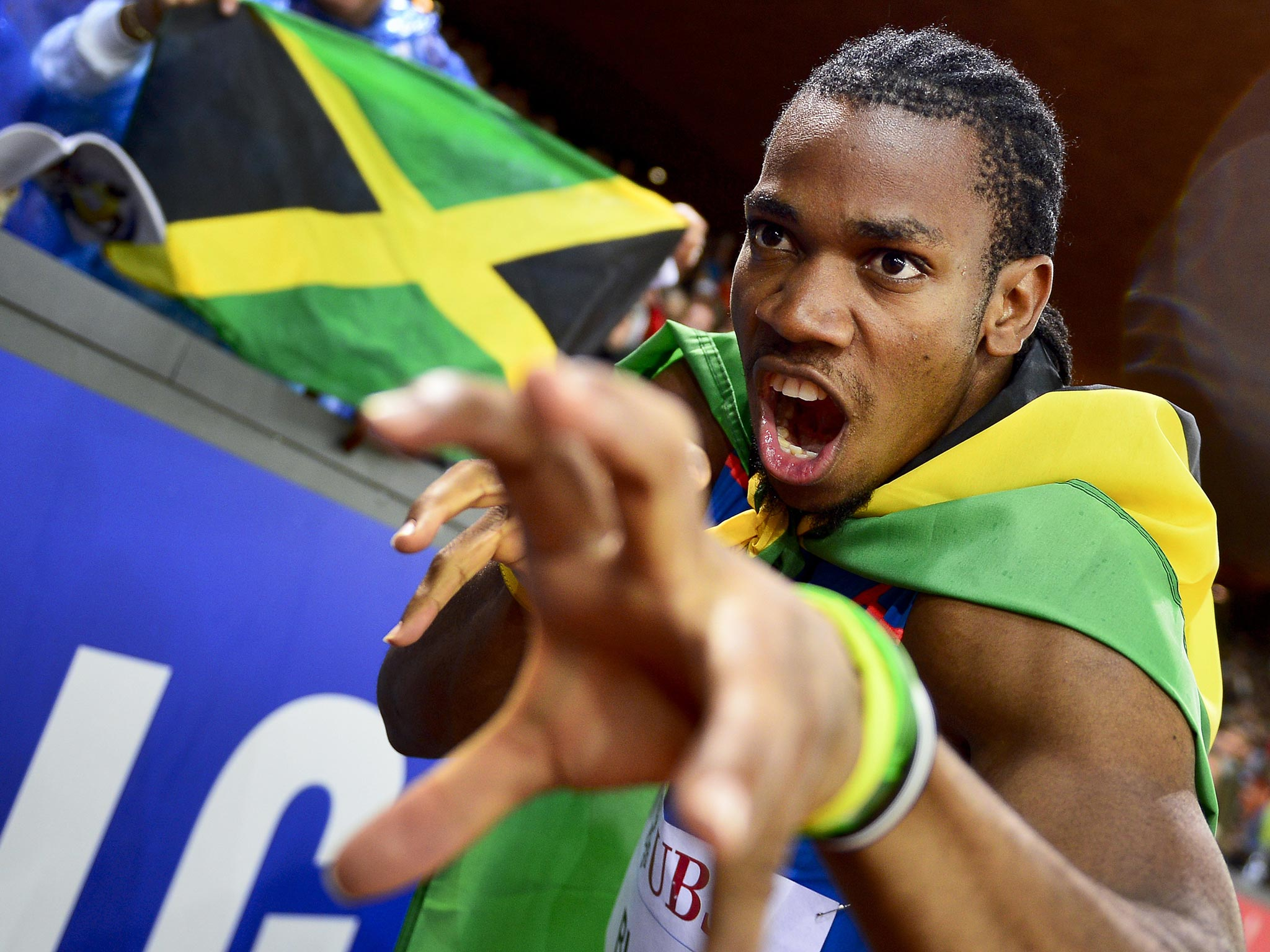 do jamaican sprinters use steroids