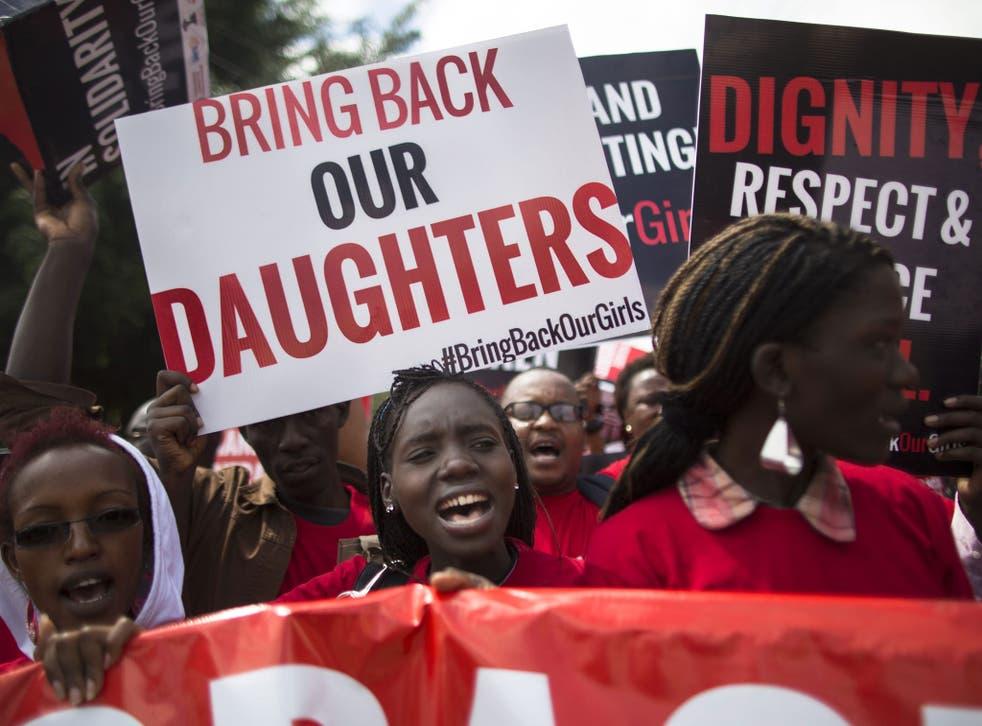 Protests against Boko Haram