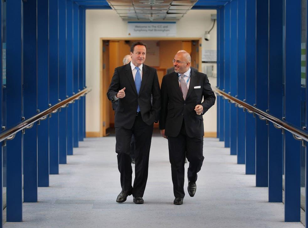David Cameron and MP Nadhim Zahawi, co-chair of an APPG on Kurdistan