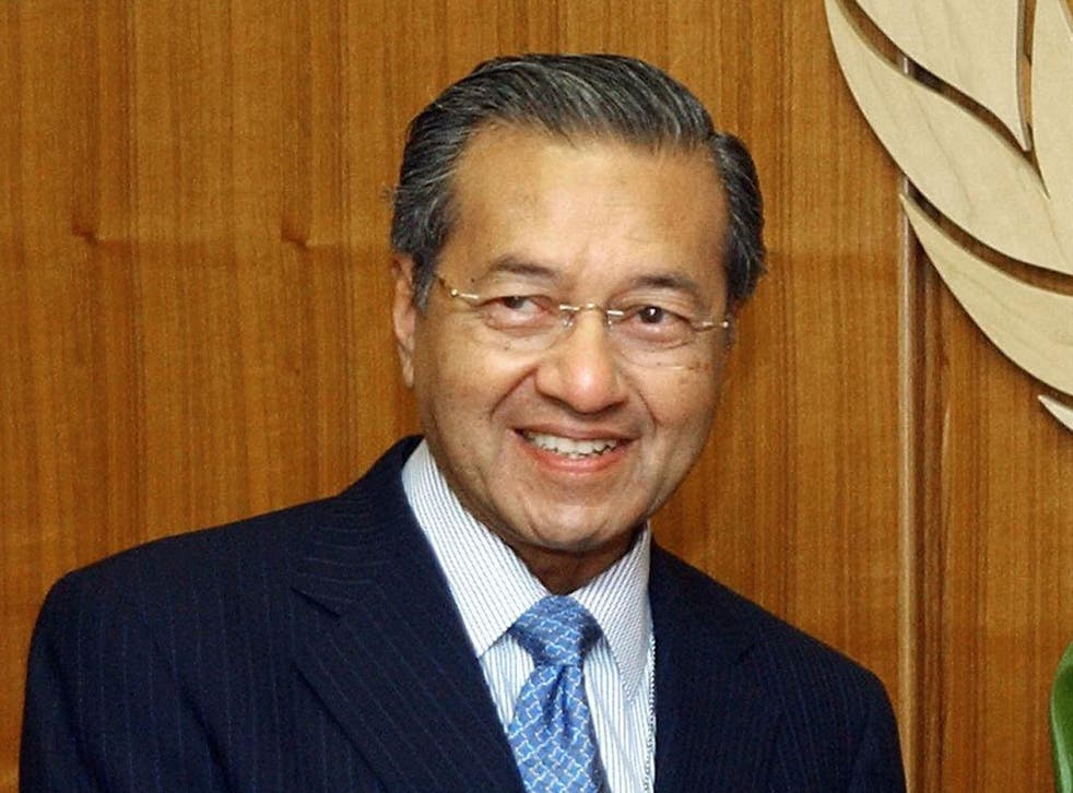 Malaysian Prime Minister Dr. Mahathir Mohamad