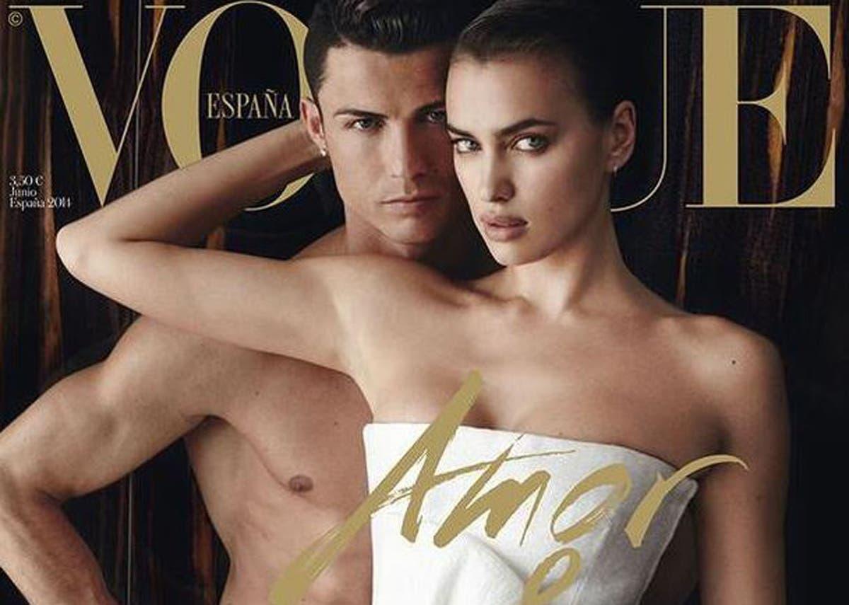 Cristiano Ronaldo Poses Shirtless at Sunset — and Asks