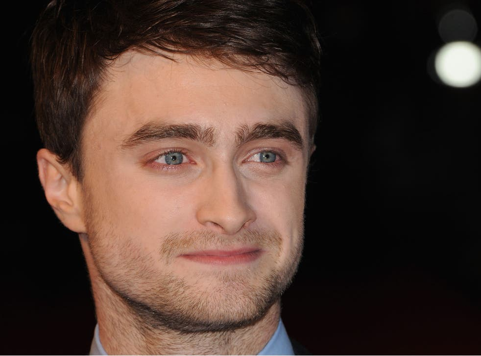 Daniel Radcliffe declined to take a clear line in the debate, unlike Harry Potter author JK Rowling