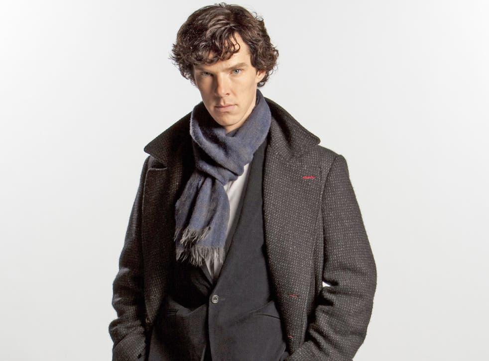 Benedict Cumberbatch stars as the lead in BBC drama Sherlock