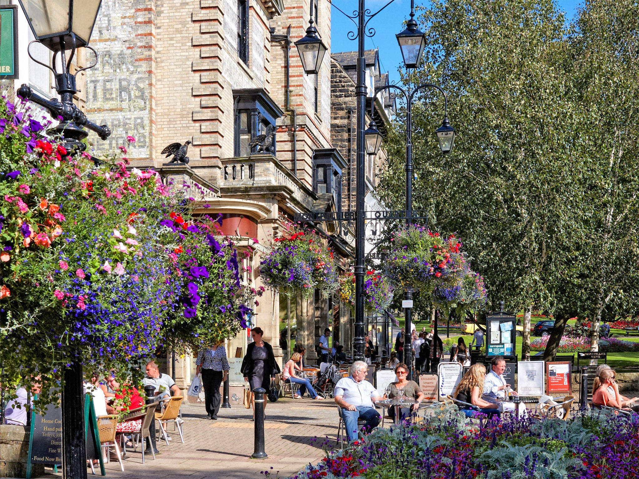 It S Grand Up North Harrogate Voted The Happiest Place To