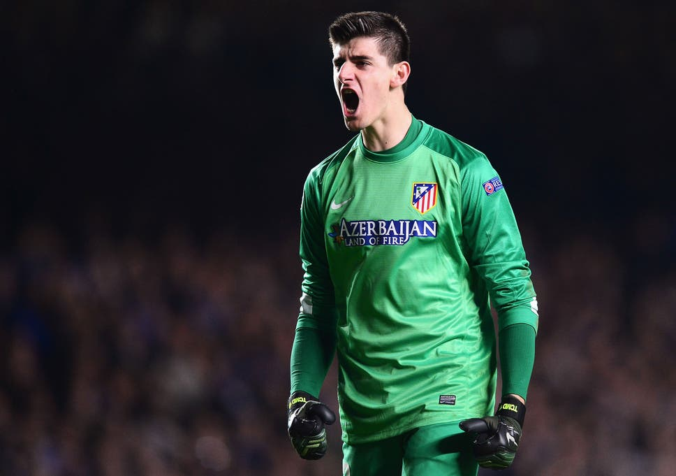 61276dbe8ff Thibaut Courtois future  On loan Atletico Madrid goalkeeper will ...