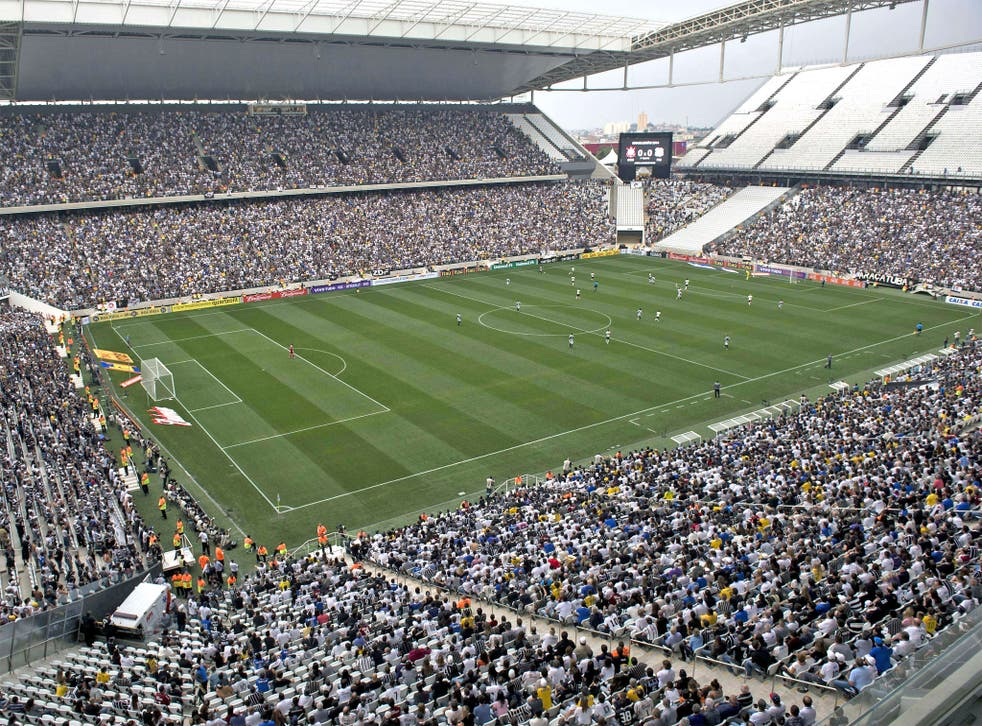 Monday's test event at the Arena de Sao Paulo did not use the temporary seats – so another one is required on 1 June