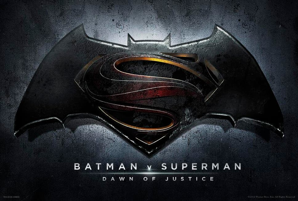 Batman V Superman Dawn Of Justice Title And Logo Sets Stage For