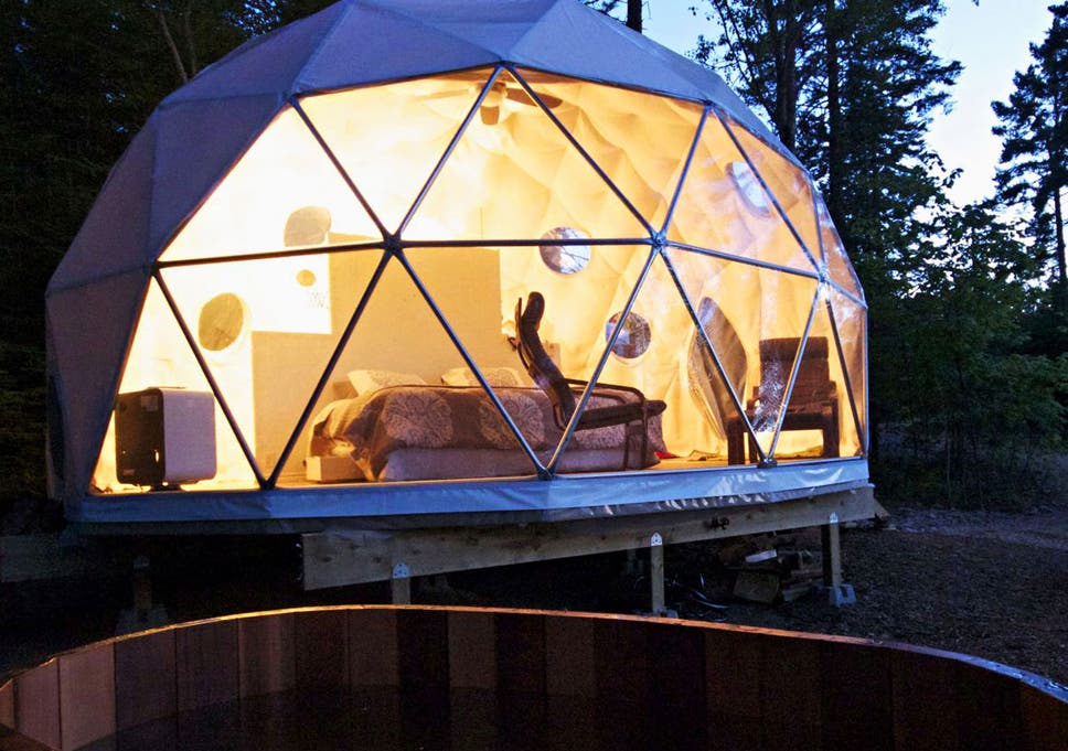 traveller s guide camping in canada the independent