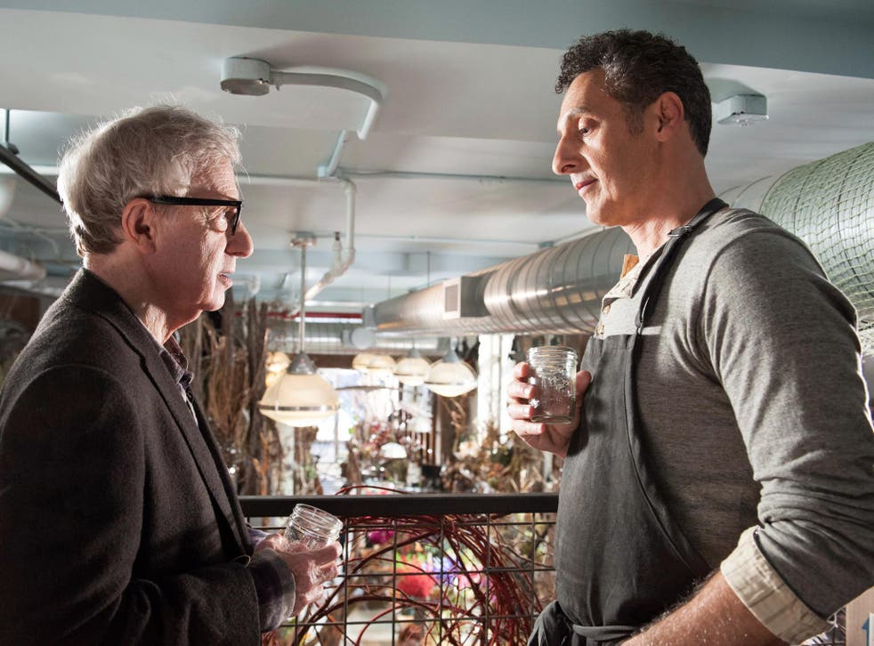 It had to be you: Woody Allen and John Turturro in 'Fading Gigolo'