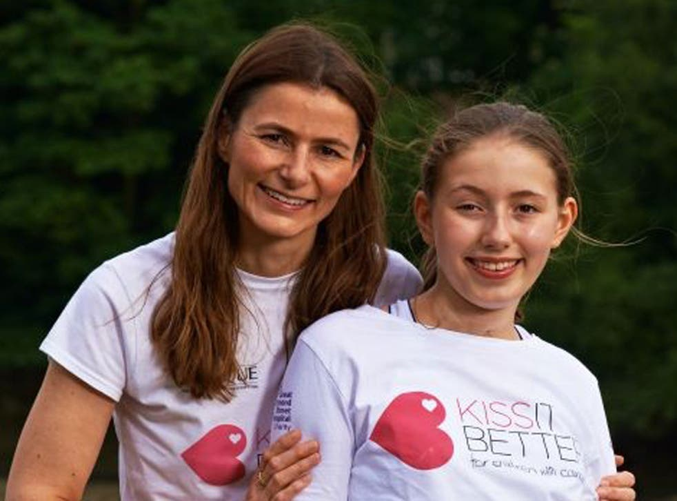 """Carmel Allen and Josephine Drew Charity Founders  Carmel, from London, founded the """"Kiss it Better"""" appeal after her daughter Josephine was treated at Great Ormond Street Hospital for neuroblastoma, a rare childhood cancer. Today, 10 years later, Josephin"""