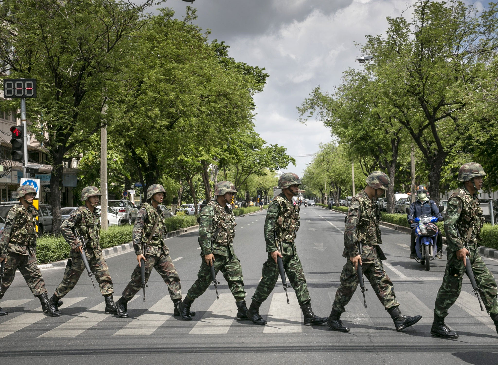 Thailand protests: Thai army declares martial law | The