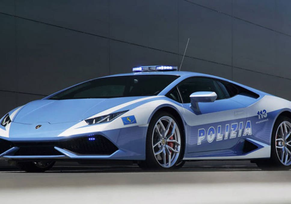 The Italian State Police Get New Lamborghini Huracan Squad Car The