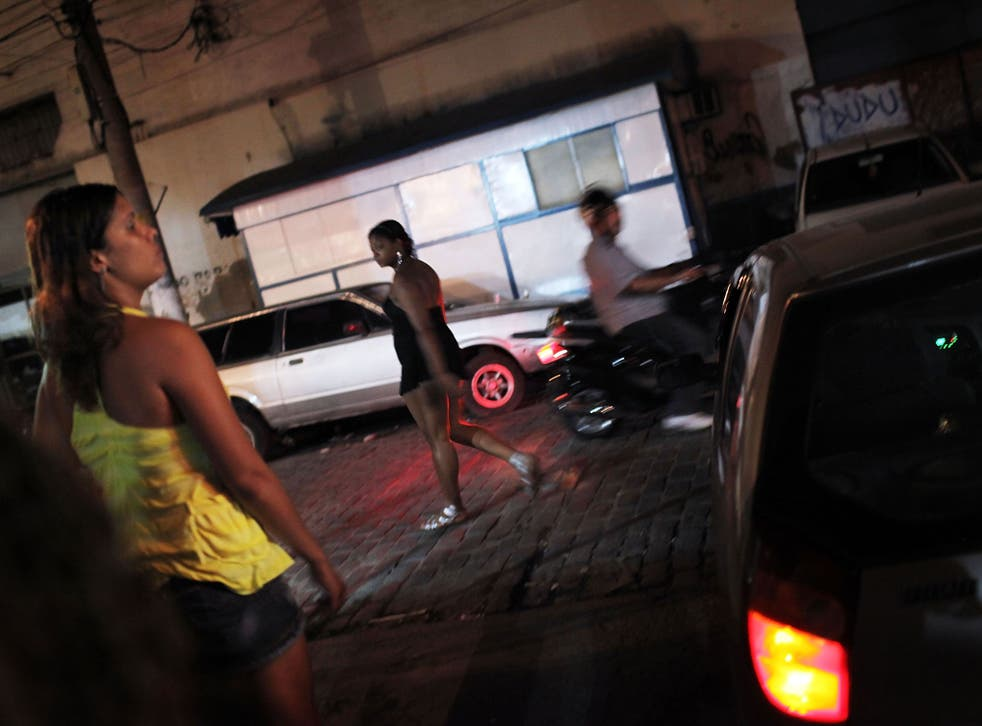 About half a million minors are thought to sell their bodies in Brazil