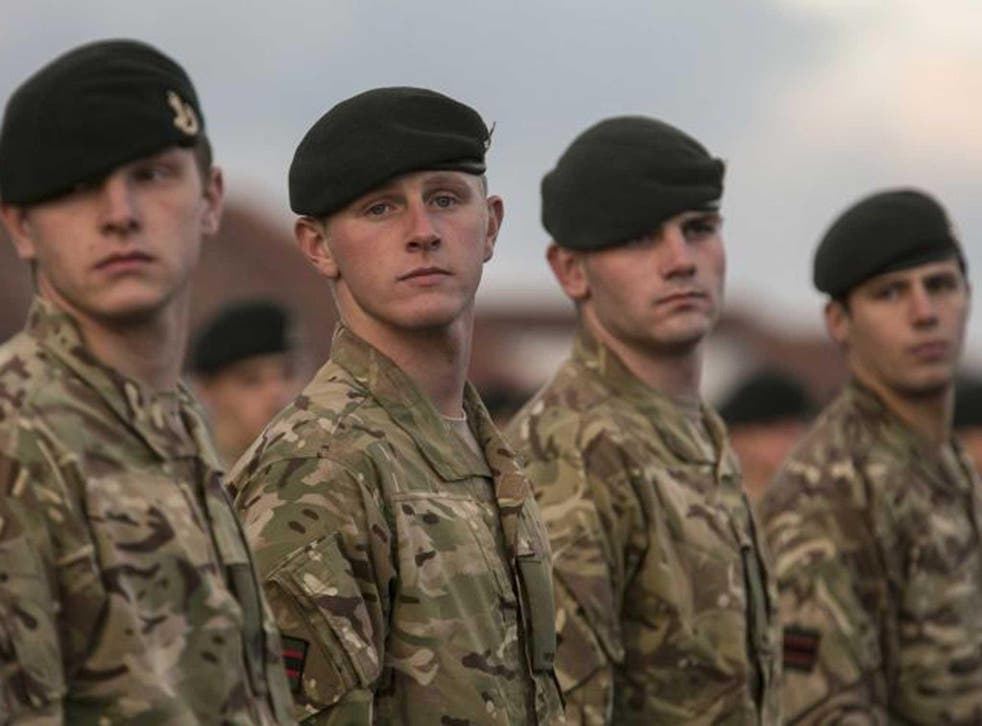 The Ministry of Defence has defended its recruitment policies