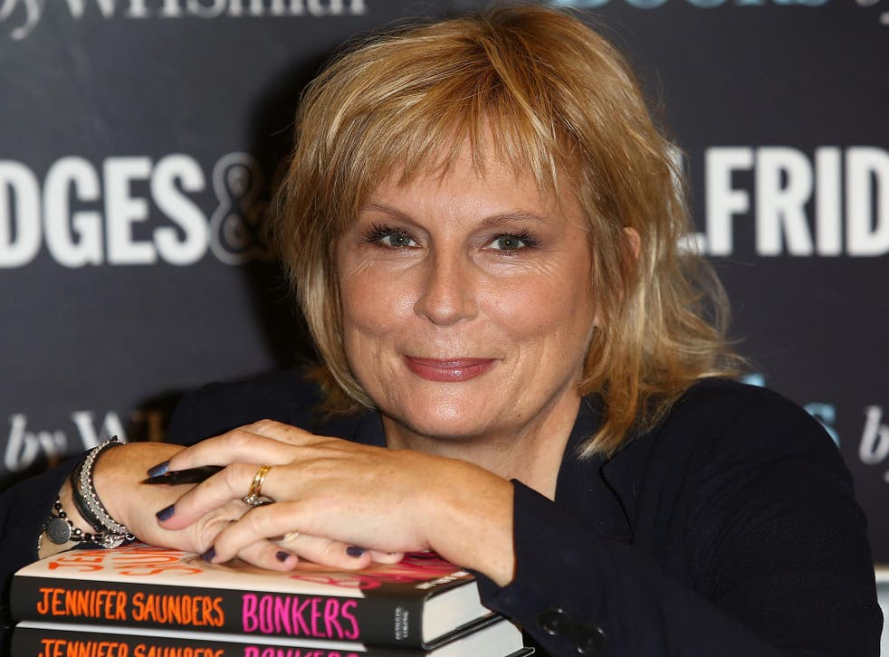 Jennifer Saunders is working on the script for the new film at the moment