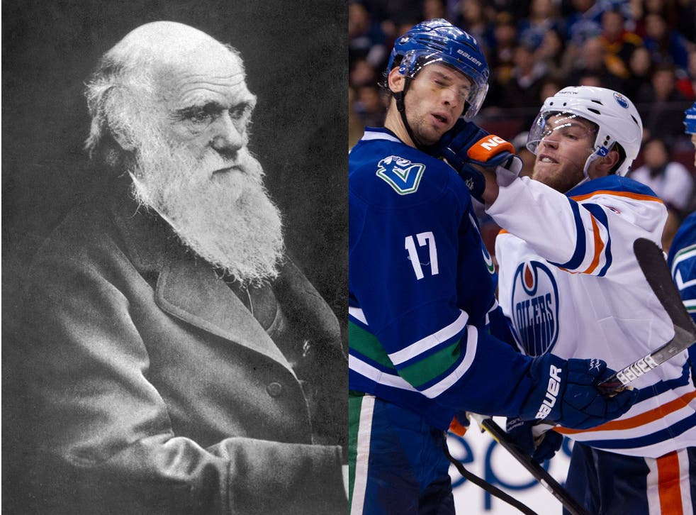 A letter dated 1 March 1883 from Charles Darwin has brought into question the origins of Ice Hockey