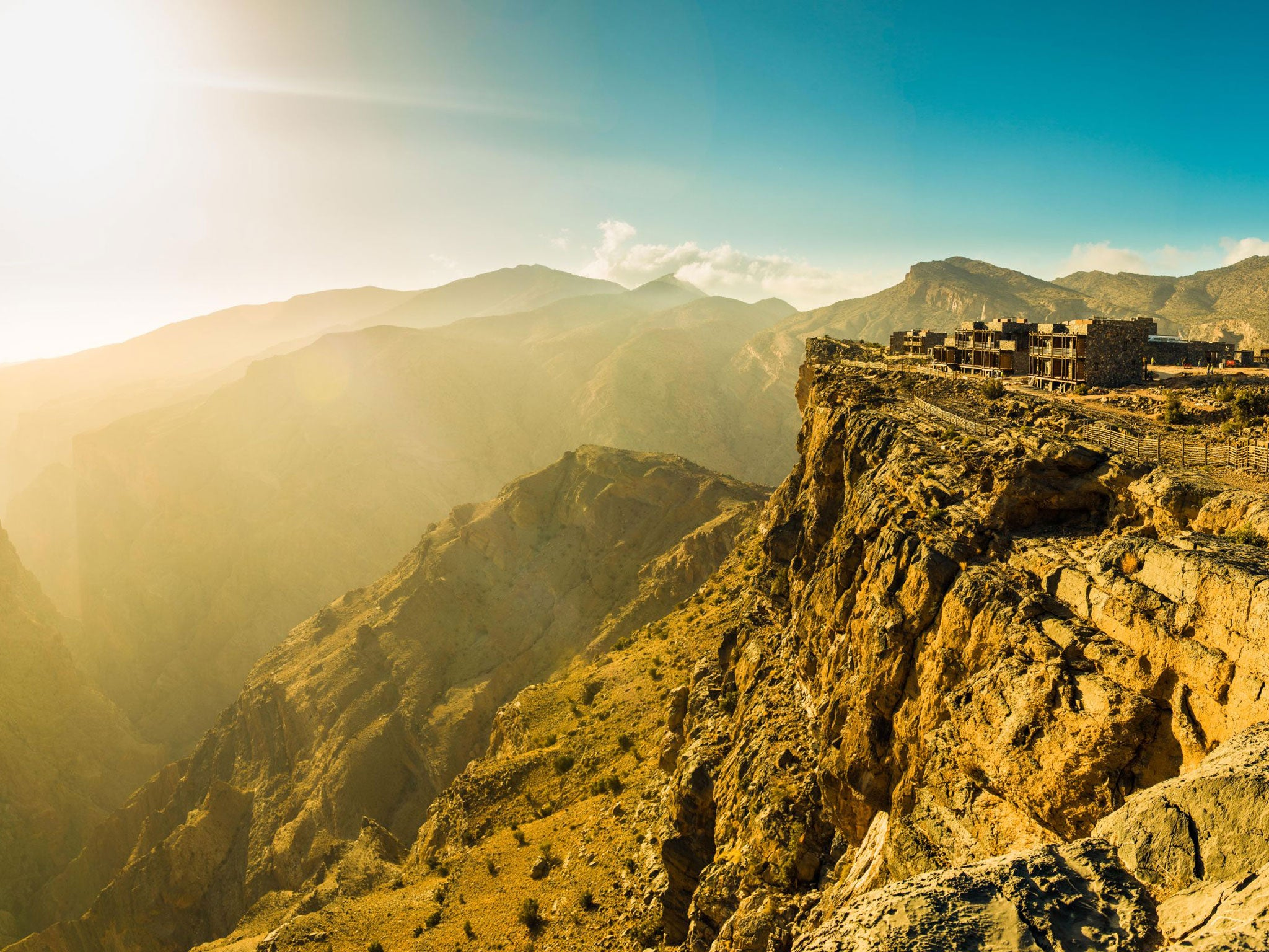 Oman green shoots in the uncharted mountains the for Designhotel oman