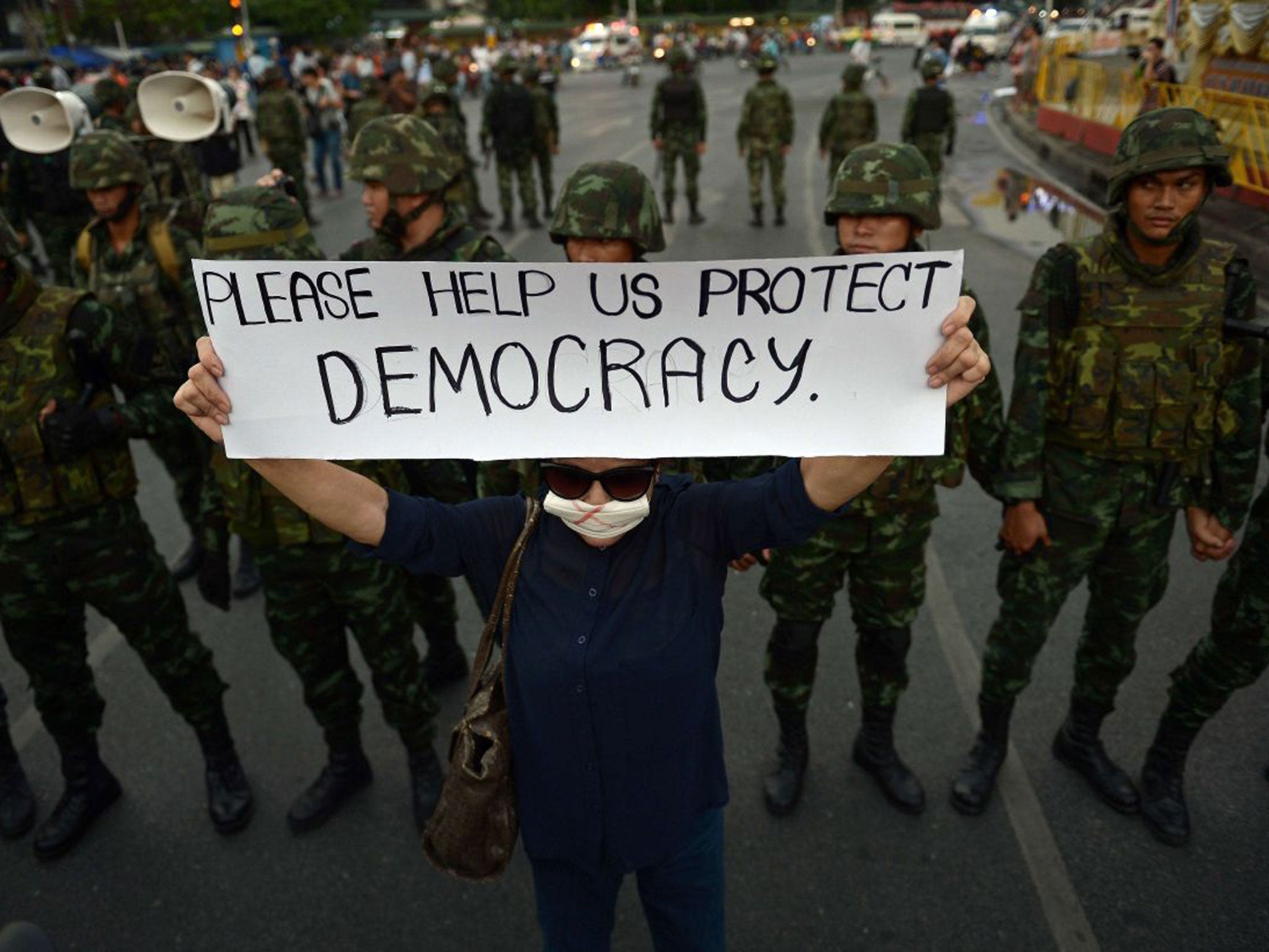 Thailand's coup: brokered by the army and PDRC   The IndependentShapeleftrightShape