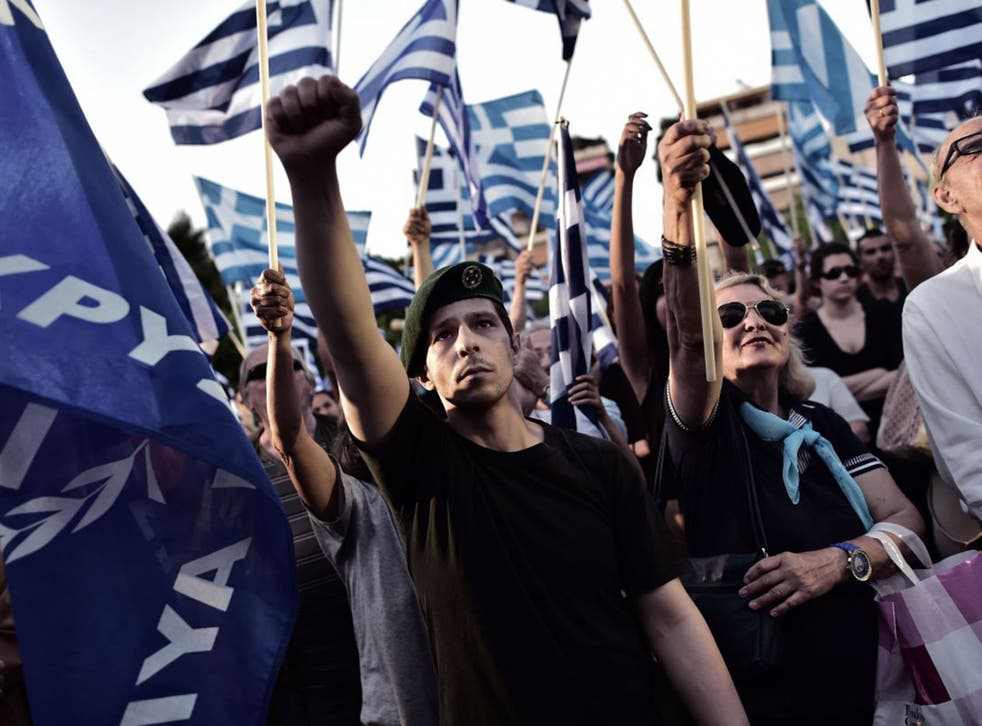 The Greek ultra-nationalist Golden Dawn is one of the emerging parties shaking up the EU
