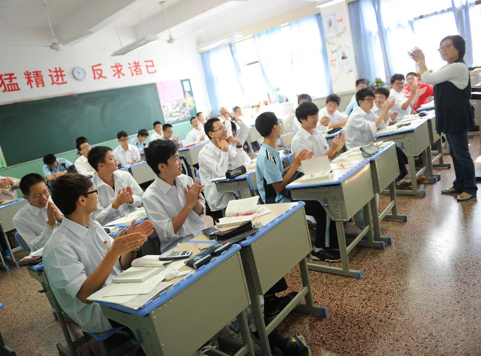 China sends around 100,000 students each year to the UK, with as few as 5,000 travelling in the opposite direction