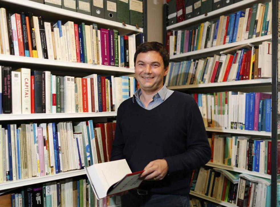 The French economist Thomas Piketty wrote that global inequality has worsened