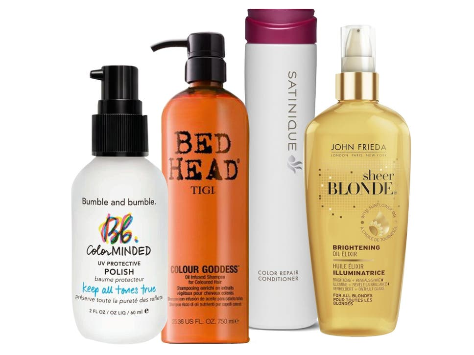 10 Best Products For Colour Treated Hair The Independent