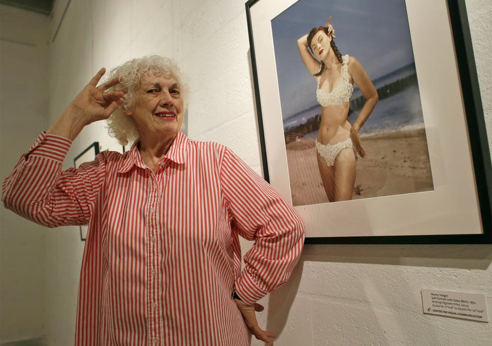 'I never posed nude for anyone apart from myself': Yeager at her Miami. '