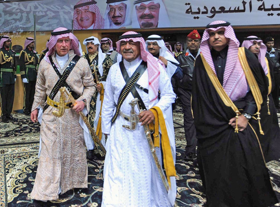 Muqrin (centre), King Abdullah's youngest brother, was made 'deputy crown prince', a newly invented title