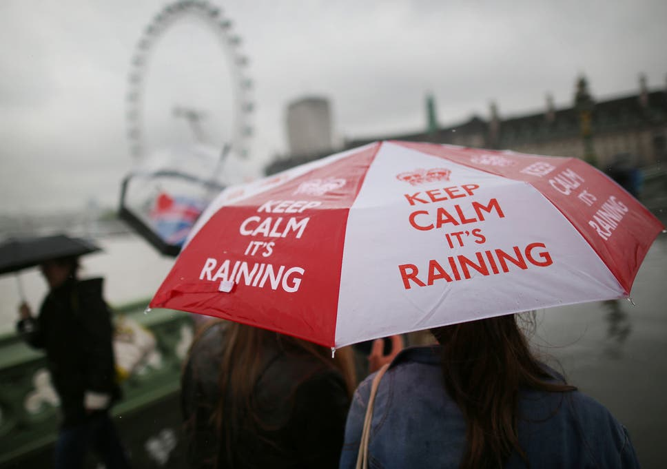 Rainy weather does not make you sad, claims behavioural