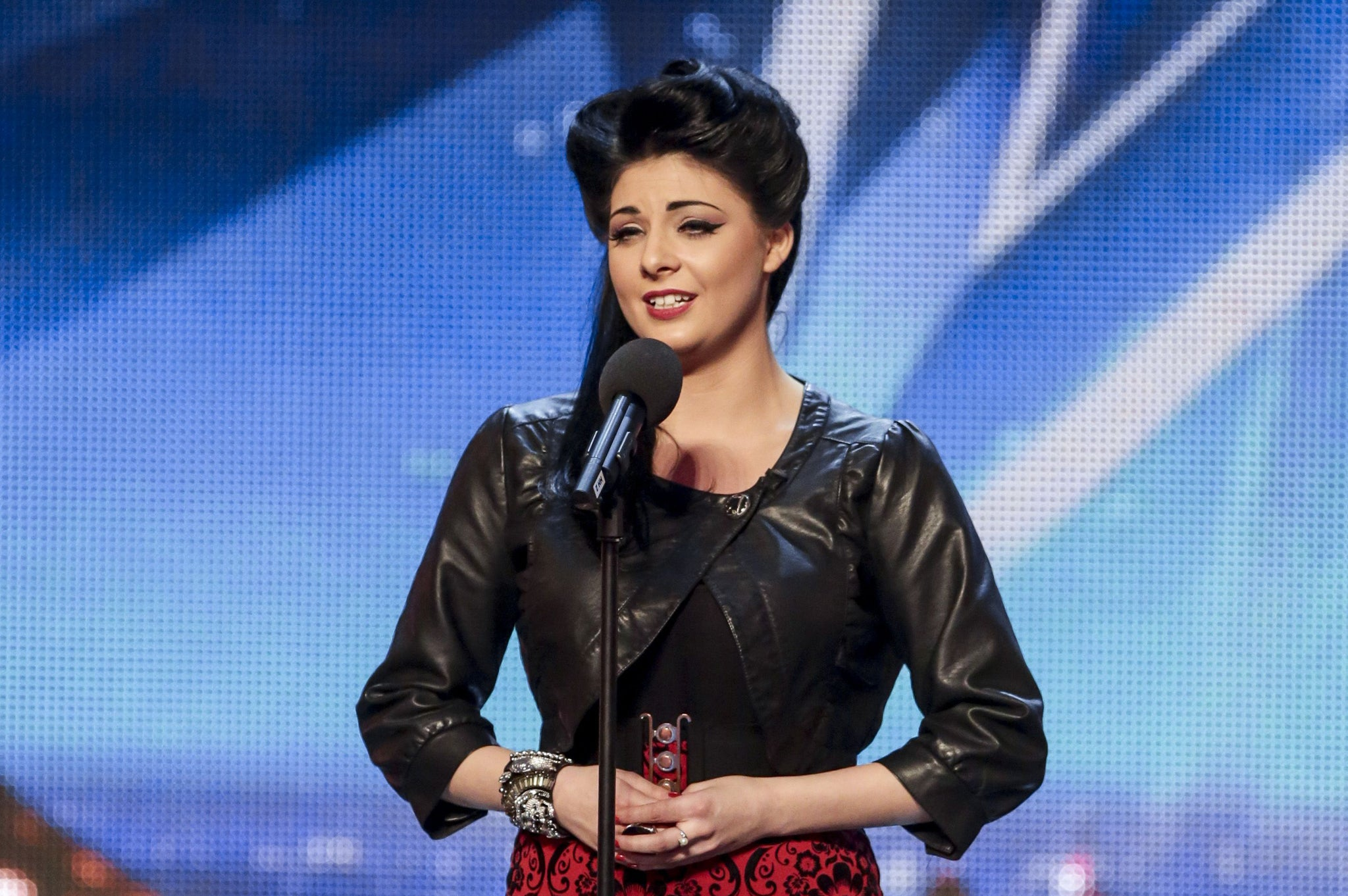 Britain S Got Talent 2014 Opera Singer Lucy Kay Voted Through To Final The Independent