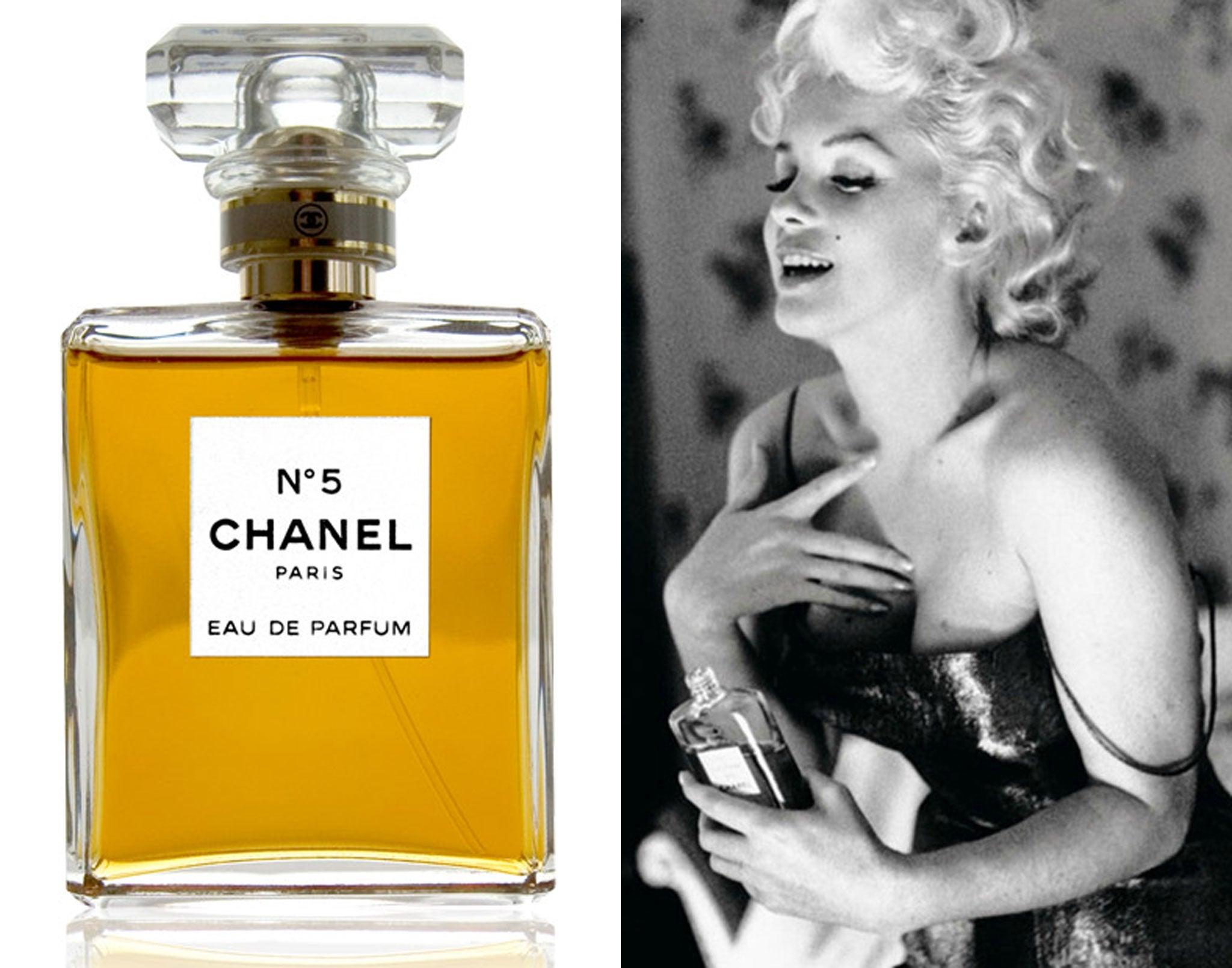 Chanel number 5 samples