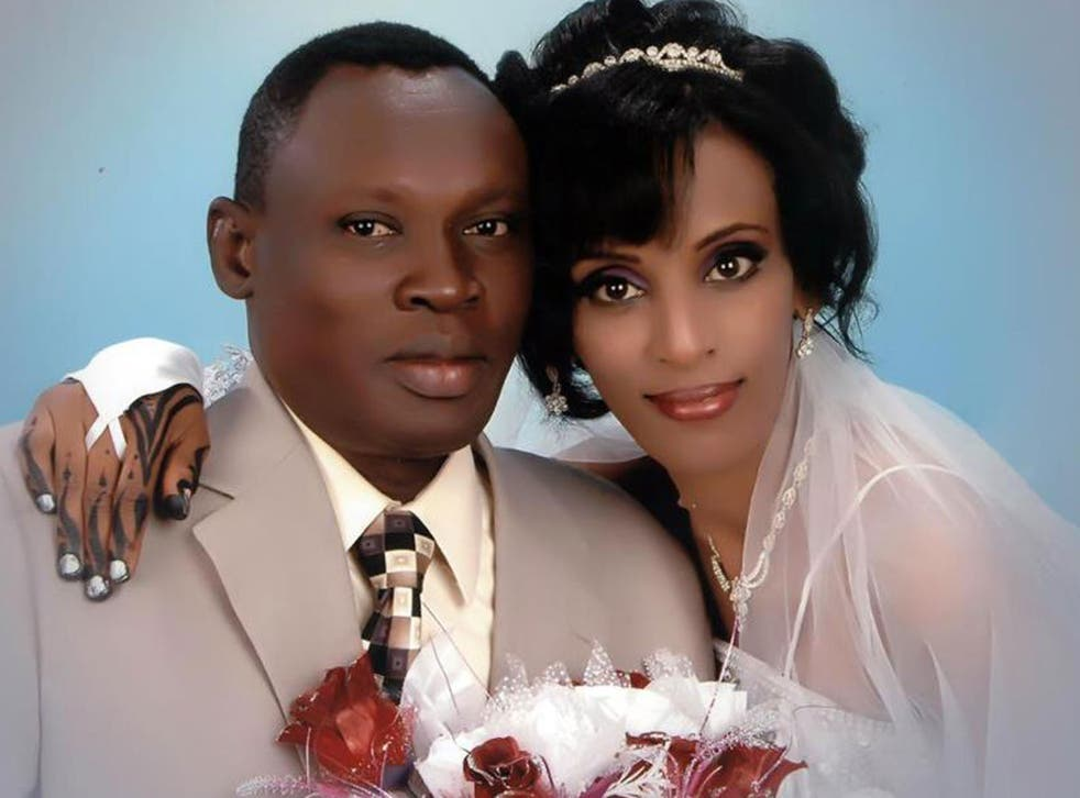 Meriam Ibrahim with her husband Daniel Wani. Miriam has been sentenced to death by a Sudanese court for apostasy