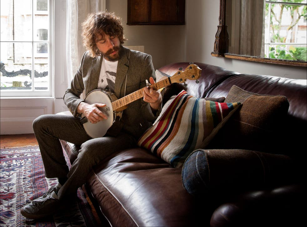 Johnny Borrell, frontman of the band Razorlight and now a solo artist