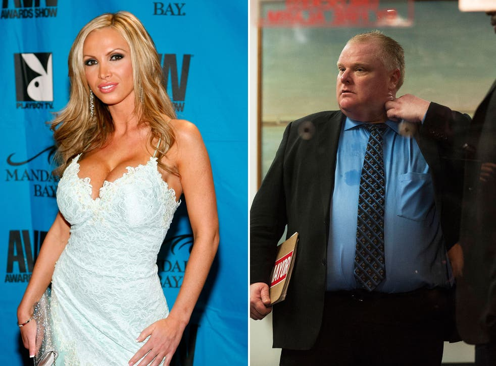 Canadian porn star Nikki Benz has formally announced her candidacy to run against scandal-ridden Toronto mayor Rob Ford in the October mayoral elections