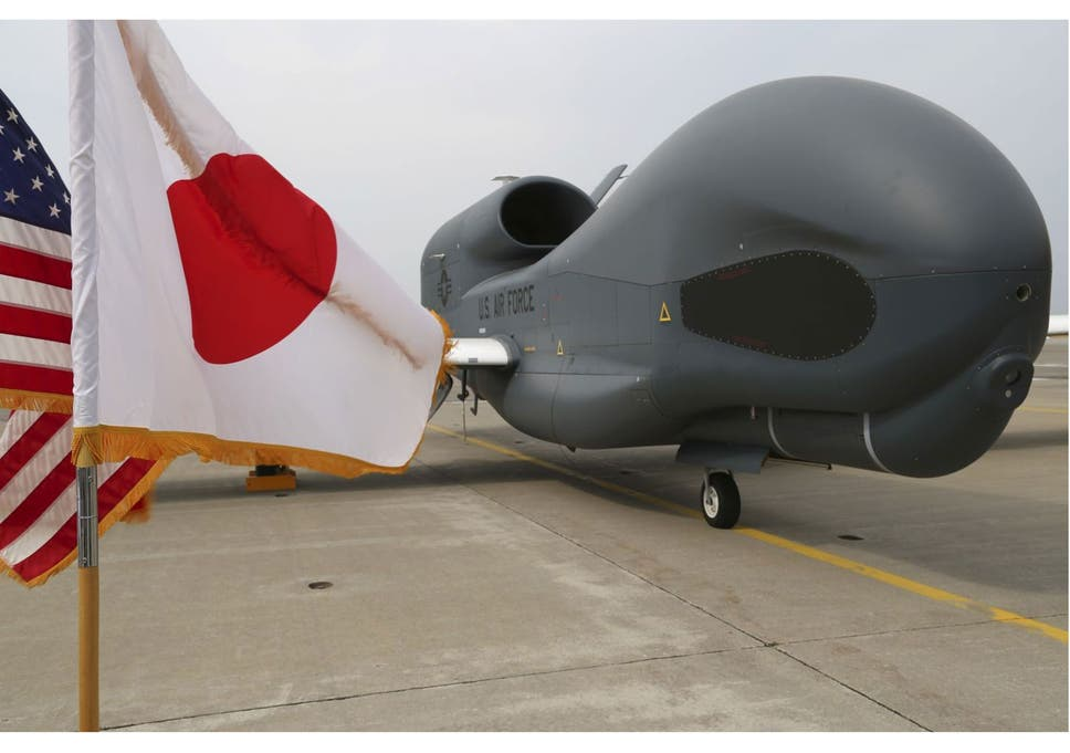 US drones stationed in Japan | The Independent