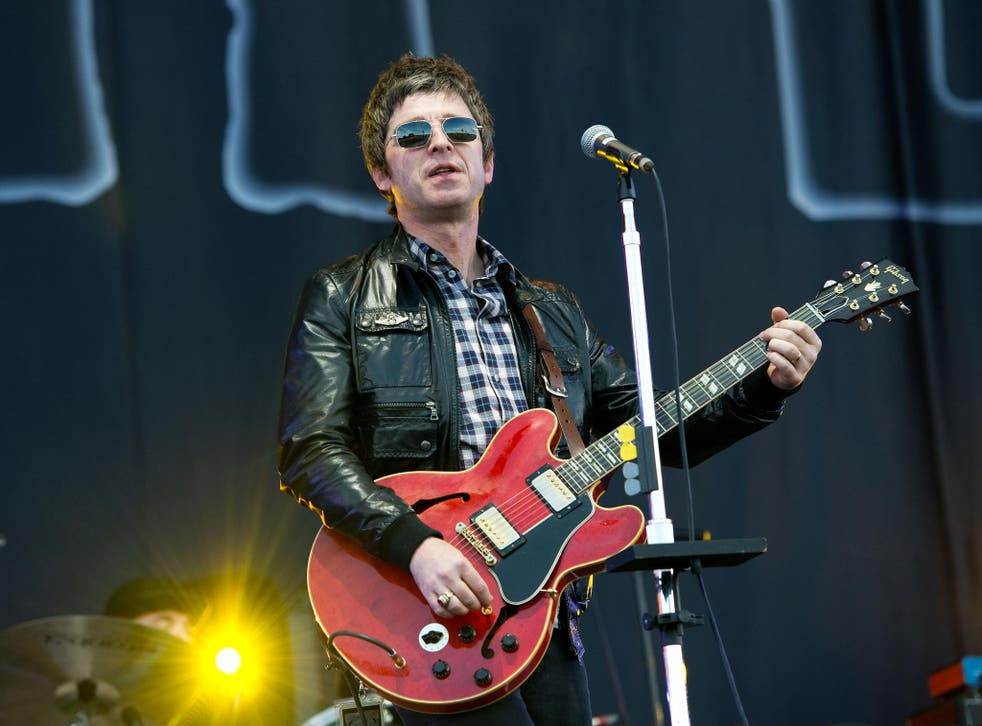Former Oasis musician Noel Gallagher