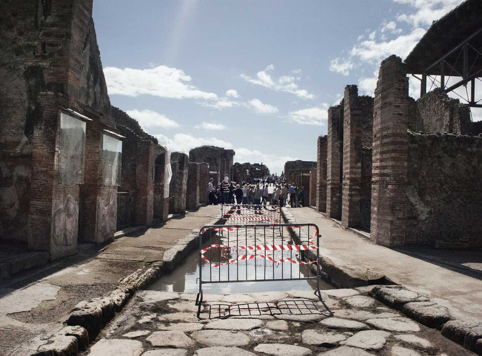 Reading some of the headlines, you'd think Pompeii resembled a scene from a post-apocalyptic science-fiction film