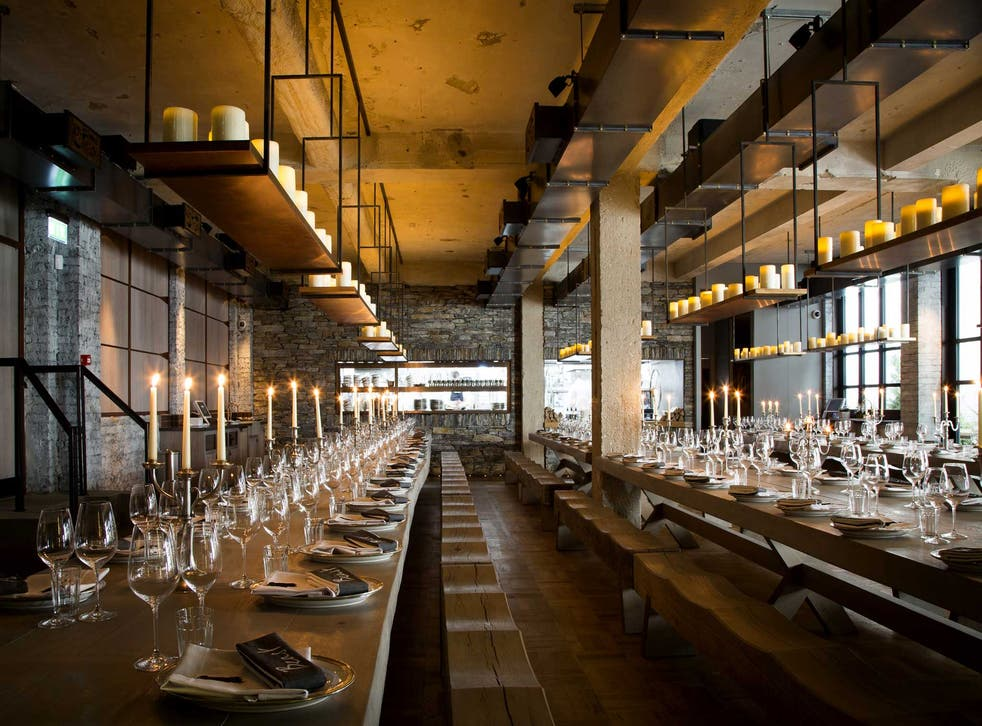 Experimental dining: The restaurant's concept is a 'medieval banquet with emphasis on sharing'