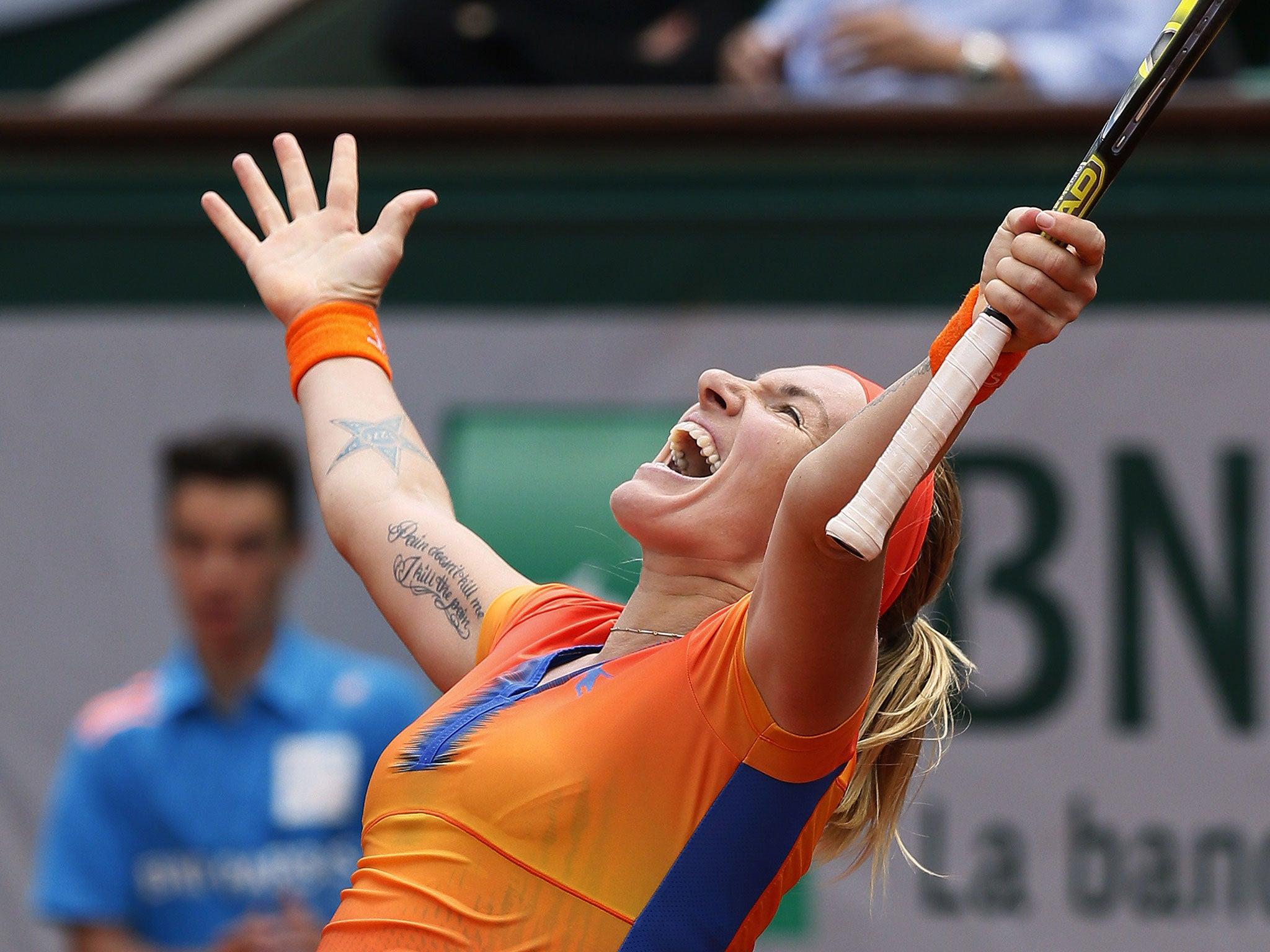 French Open 2014 Latest epic win moves Svetlana Kuznetsova from