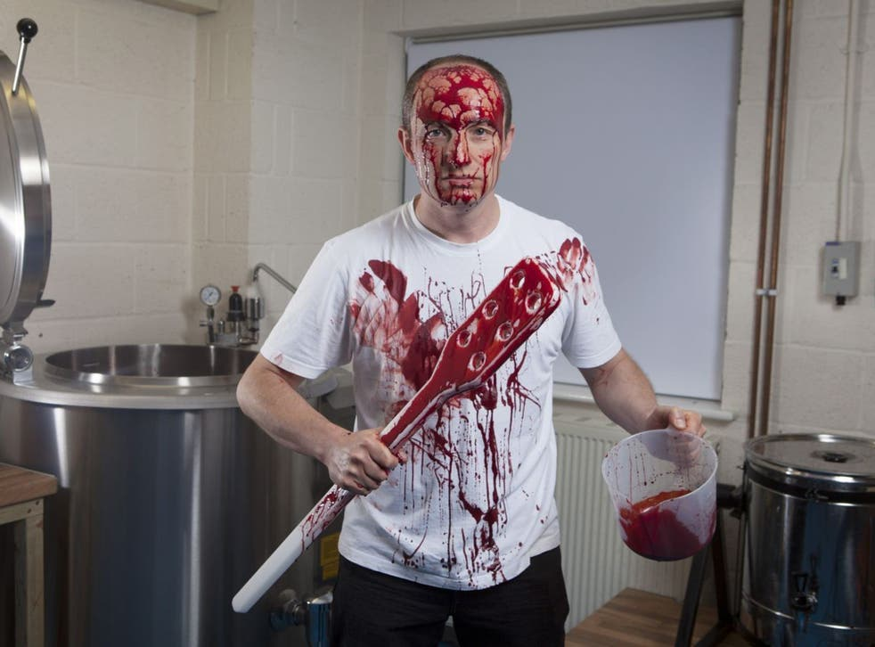 Blood stirring: Anthony Davies supplied Titus Andronicus and Macbeth