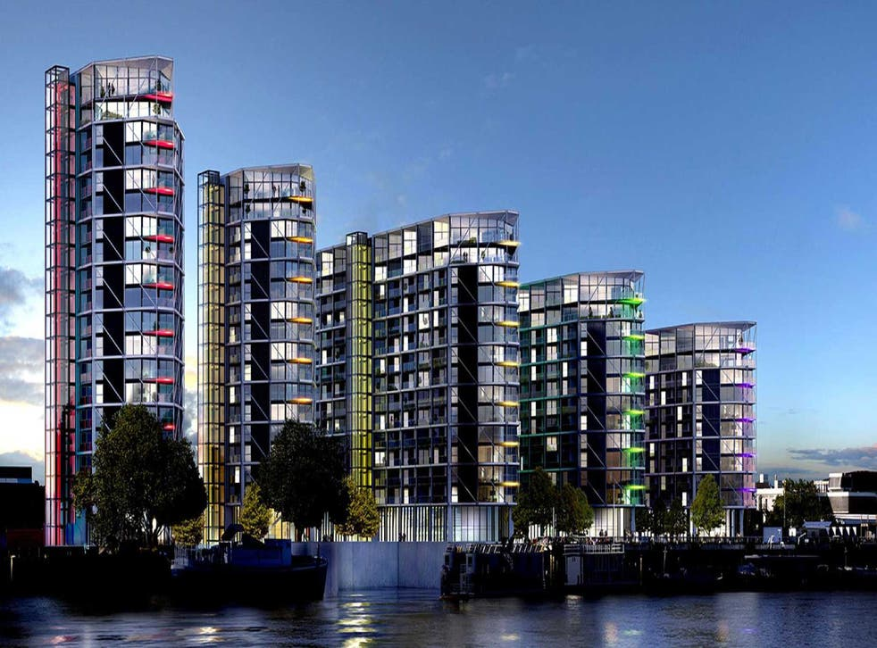 Riverlight: A 15th-floor, five-bedroom flat costs £9m - four times the price of big period houses with gardens in nearby neighbourhoods