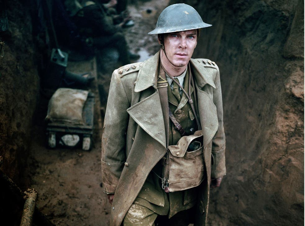 Benedict Cumberbatch as the idealistic Christopher Tietjens in 2012's Parade's End