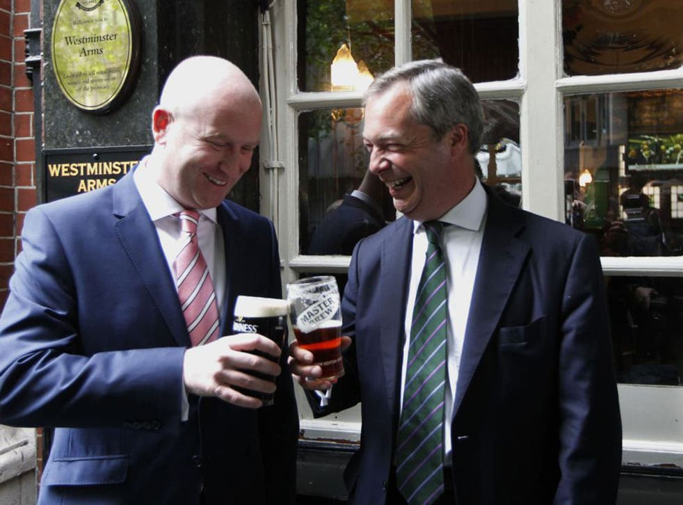 Paul Nuttall, left, is seen as one of Ukip's key weapons in selling the party to the North of England