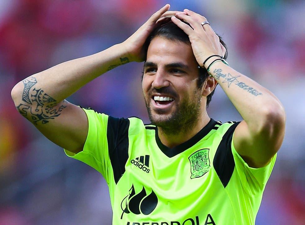Cesc Fabregas could leave Barcelona for £30m
