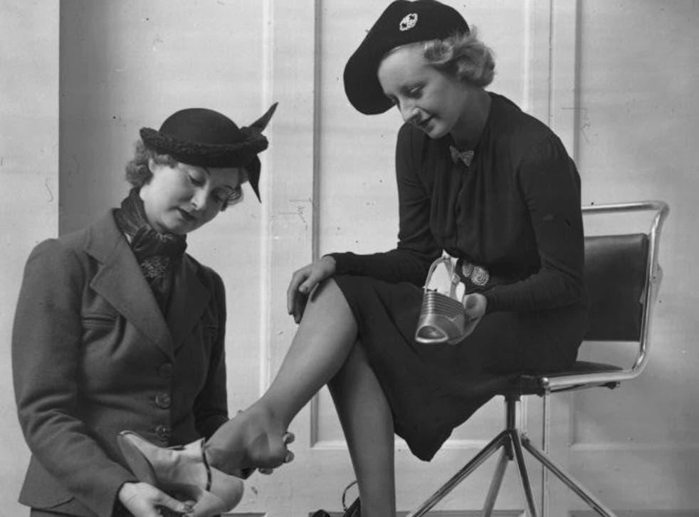 Foot locker: women's feet used to be daintier