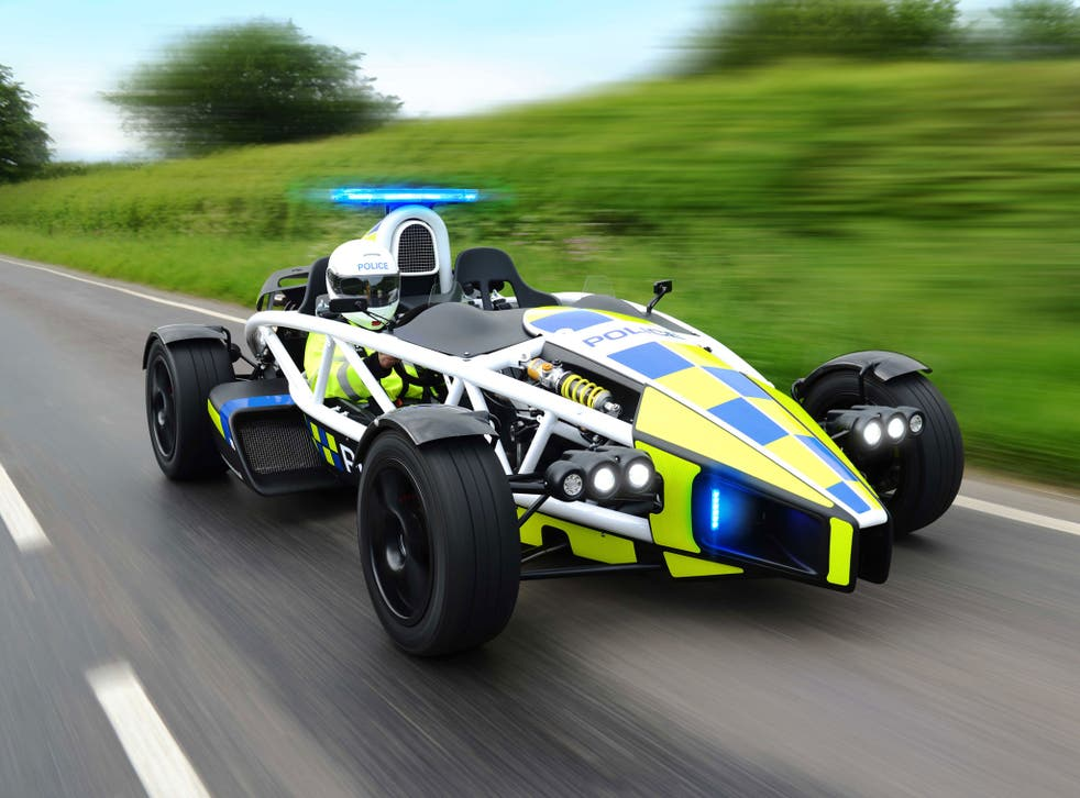 Avon and Somerset Police said their new Ariel Atom 3.5R, which can go from 0-60mph in 2.5 seconds, would be used to raise awareness about motorbike safety and training